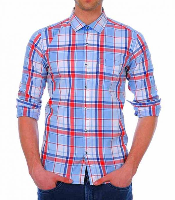 Wholesale Alluring Check Mens Flannel Shirt Manufacturer