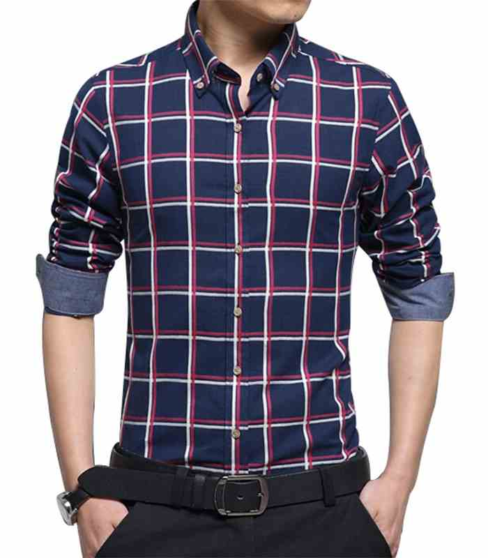 Wholesale Mens Attractive Flannel Check Shirt Manufacturer