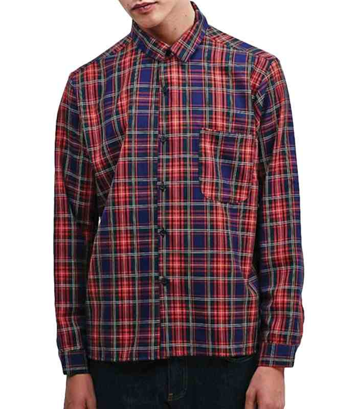 Wholesale Band Box Check Vintage Flannel Shirt Manufacturer