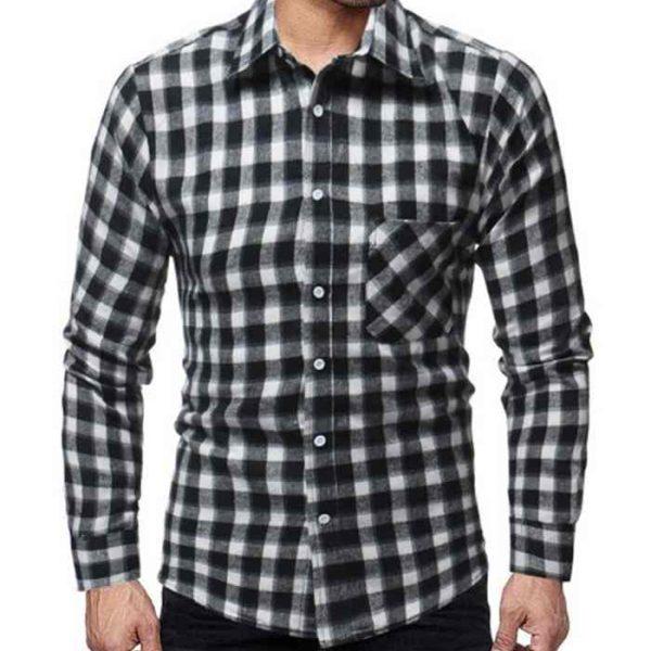 Wholesale Mens Black Flannel Plaid Shirt Manufacturer