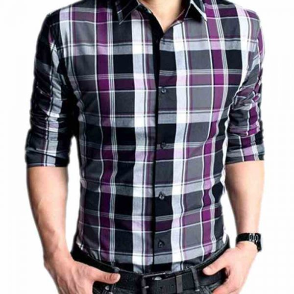 Wholesale Mens Classy Check Flannel Shirt Manufacturer