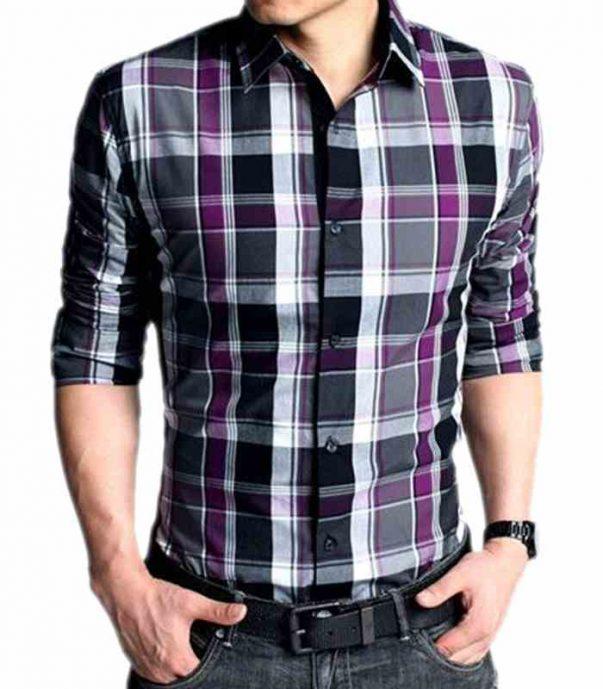 Wholesale Mens Classy Check Flannel Shirt Manufacturer