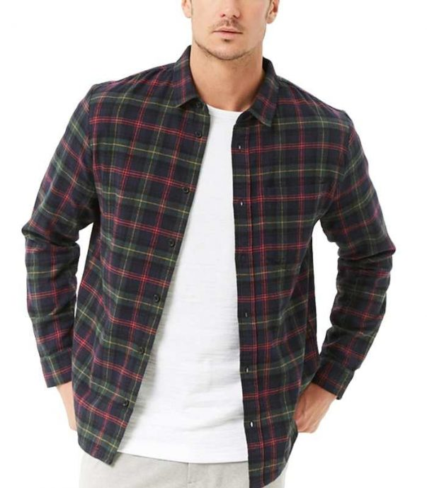 Black Cotton Flannel Shirt Wholesale Manufacturer