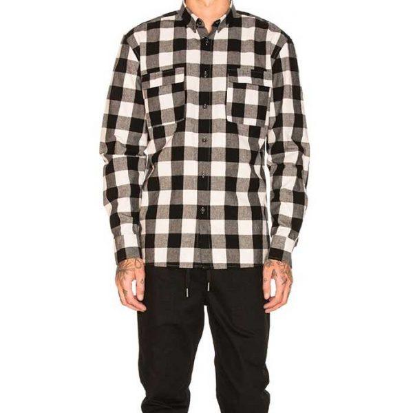 Wholesale Mens Custom Plaid Flannel Shirt Manufacturer