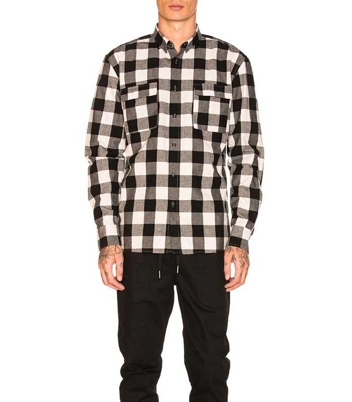 Wholesale Mens Custom Plaid Flannel Shirt Manufacturer