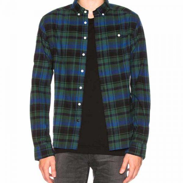 Wholesale Mens Fashionable Cheap Flannel Shirt Manufacturer