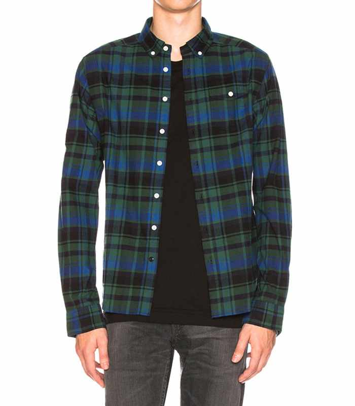 Wholesale Mens Fashionable Cheap Flannel Shirt Manufacturer
