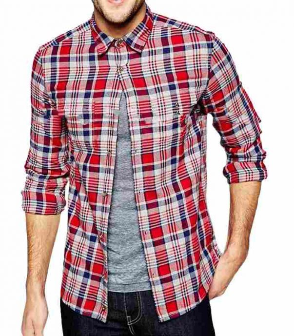 Wholesale Latest Mens Flannel Check Shirt Manufacturer