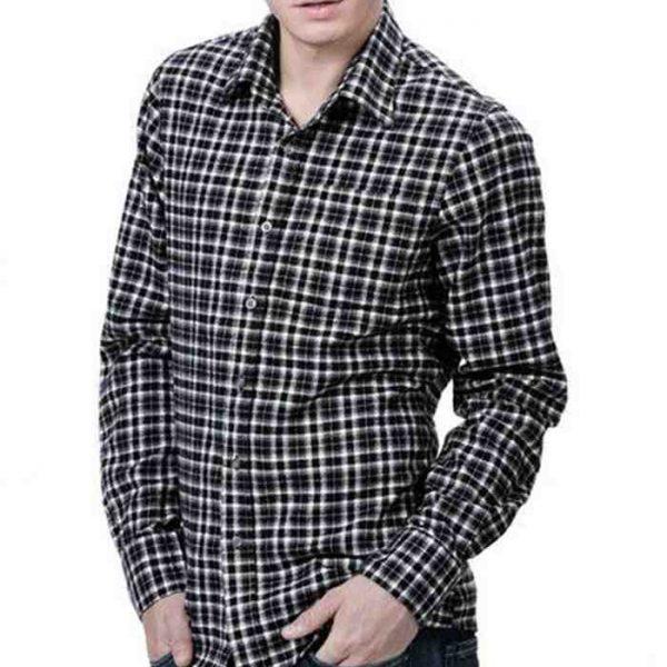 Wholesale Long Sleeve Plaid Flannel Shirt Manufacturer