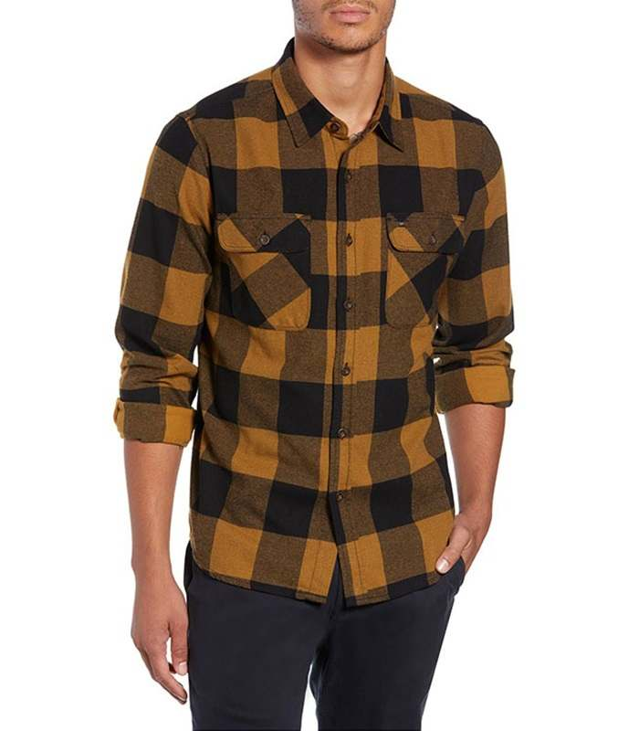 Wholesale Latest Design Long Sleeve Vintage Flannel Shirt Manufacturer
