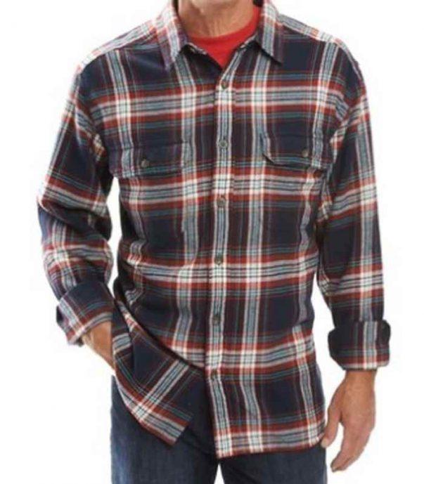 Wholesale Mens Trendy Plaid Flannel Shirt Manufacturer