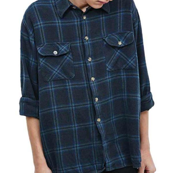Wholesale Rapper Rapid Vintage Flannel Shirt Manufacturer