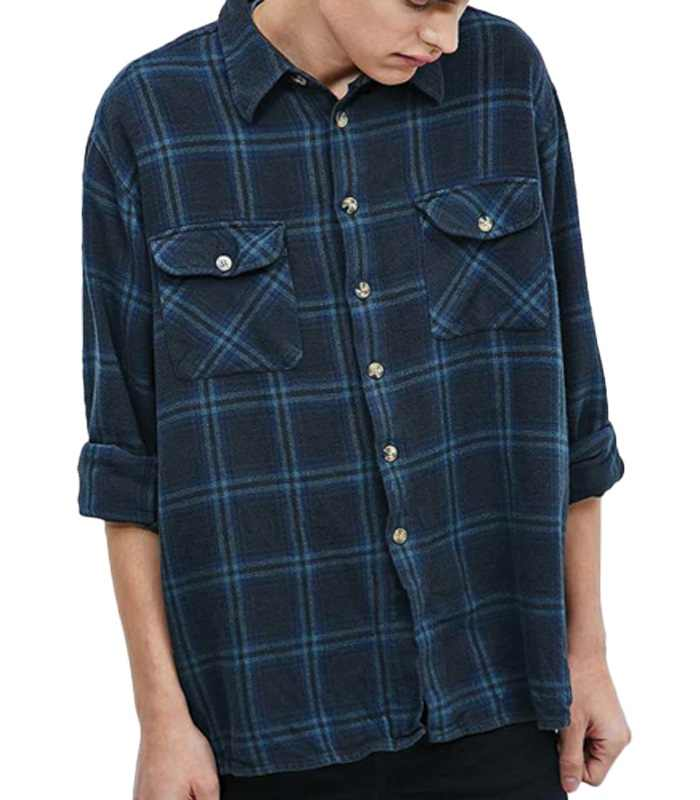 Wholesale Rapper Rapid Vintage Flannel Shirt Manufacturer