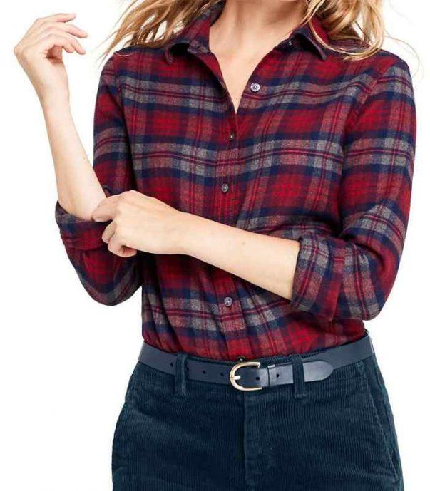 Wholesale Stylish Womens Vintage Flannel Shirt Manufacturer