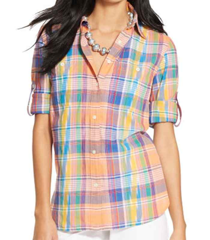 Wholesale Sunny Madras Ladies Flannel Cotton Shirt Manufacturer