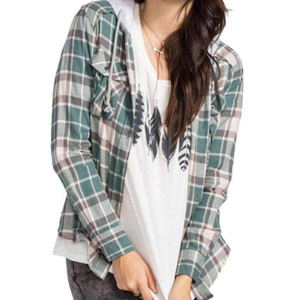 Wholesale Womens Butter Scotch Long Sleeve Flannel Shirt Manufacturer