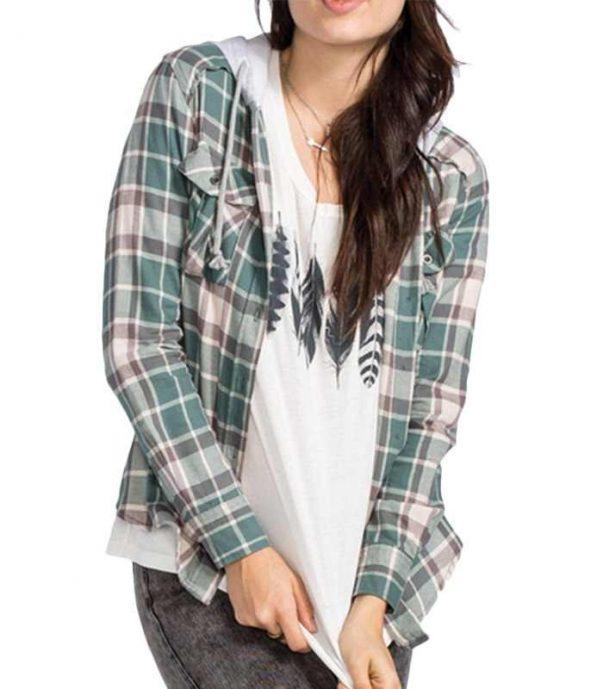 Wholesale Womens Butter Scotch Long Sleeve Flannel Shirt Manufacturer