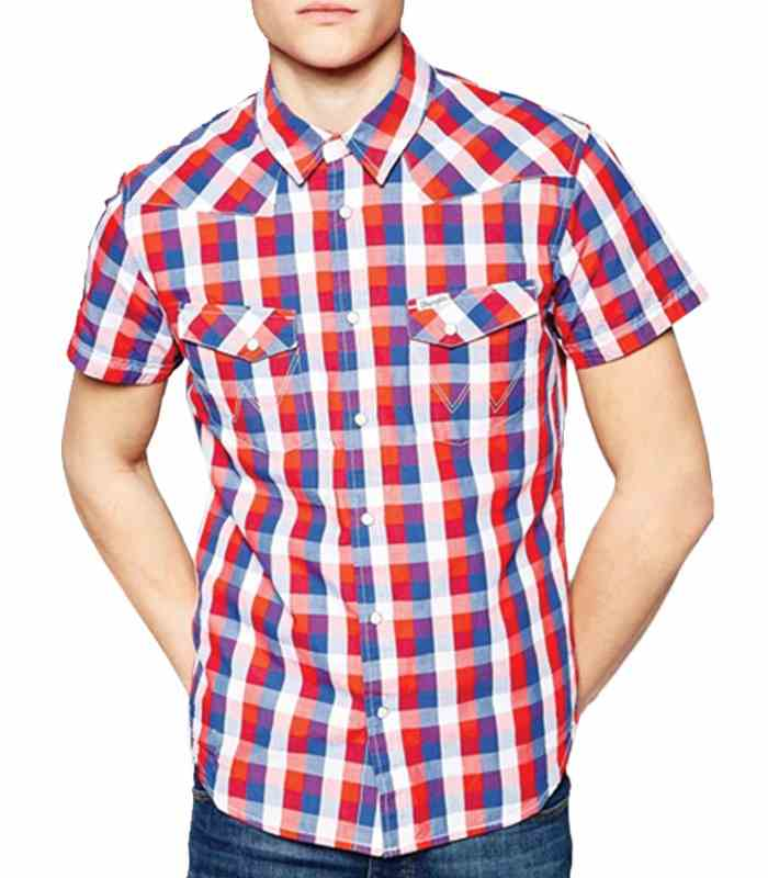 Wholesale Cherry Charmed Mens Flannel Shirt Manufacturer