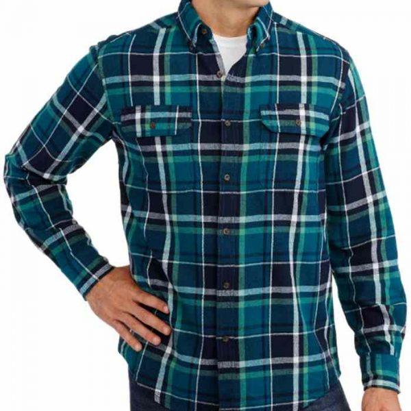 Wholesale Simple Flannel Plaid Shirt Manufacturer