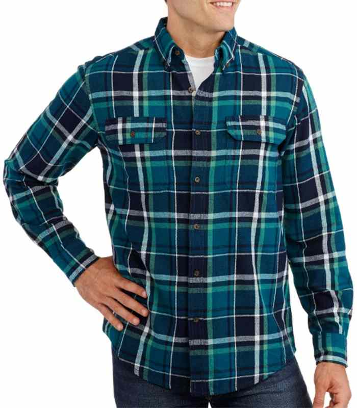 Wholesale Simple Flannel Plaid Shirt Manufacturer