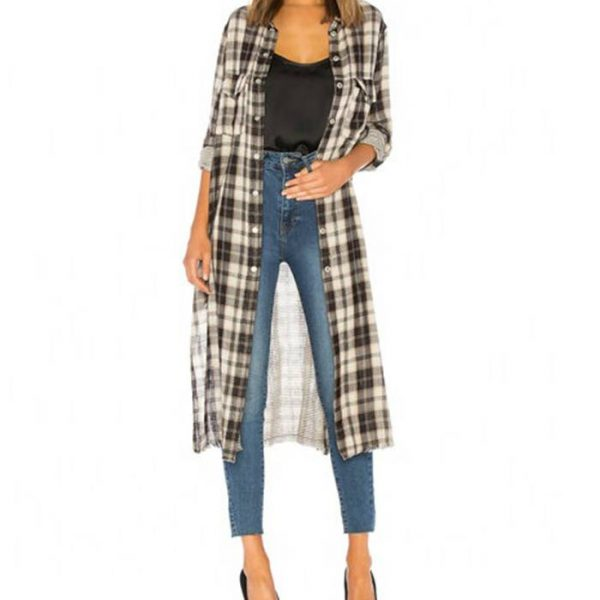 Wholesale Womens Casual Plaid Flannel Shirt Manufacturer