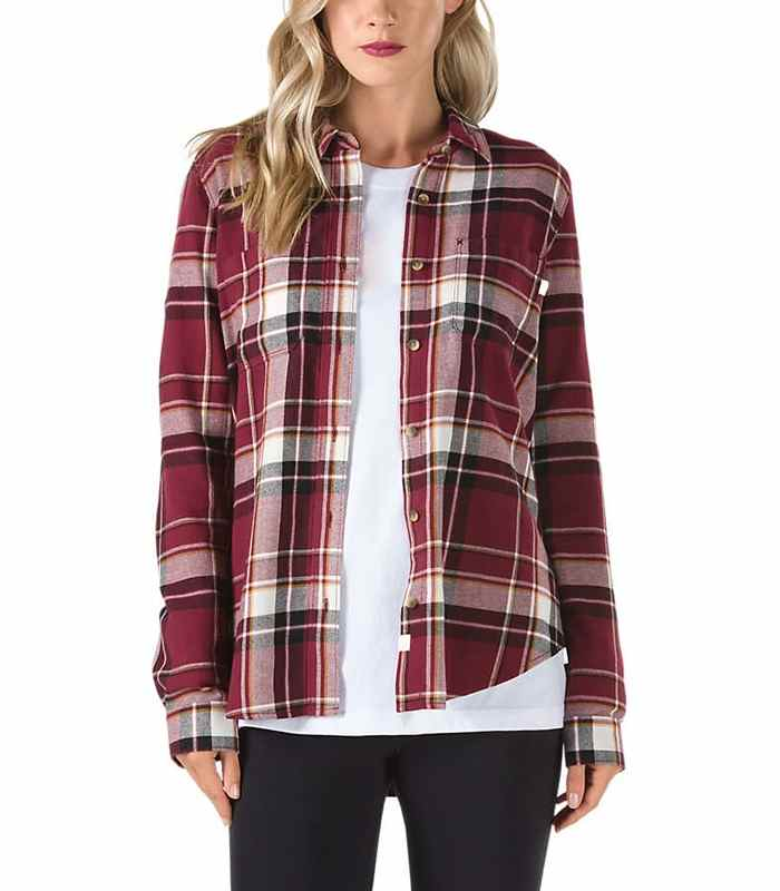 Wholesale Womens Stylish Flannel Shirt Manufacturer