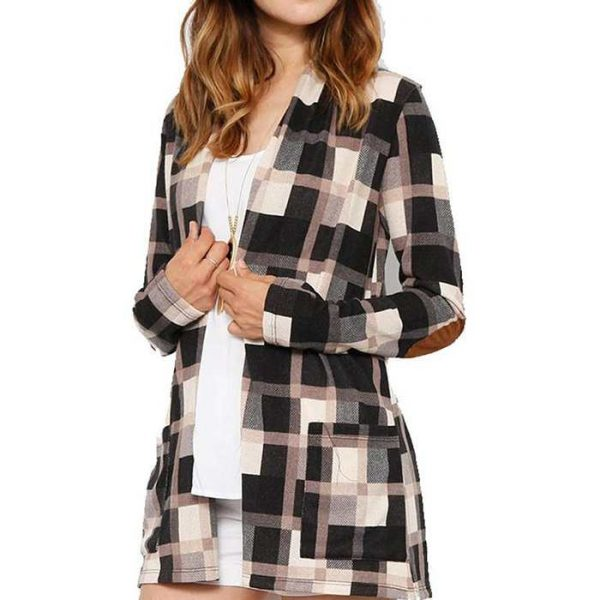 Wholesale Womens Trendy Vintage Flannel Shirt Manufacturer